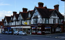 Burgess Hill, Station Road, Sussex © Peter Trimming